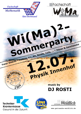 Foto Sommerparty 2005